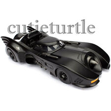 Jada Metals 1989 Batman Batmobile 1:24 Diecast Model Car 98263 Black