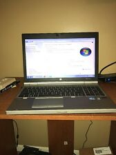 HP Elitebook 8560p Laptop Notebook 4gb RAM Intel Core i5 2540m 2.60 GHz