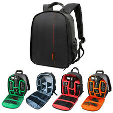 Waterproof Camera Backpack Bag Lens Case Rucksack For Canon EOS Nikon DSLR SLR
