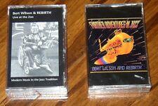 Two Bert Wilson (saxophone multiphonic master) Jazz cassettes