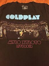 Coldplay Mylo Xyloto 2012 Tour T-shirt Size M
