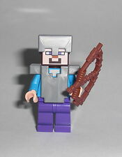 LEGO Minecraft - Steve (21126) - Figur Minifig Wither Creeper Alex Ideas 21126