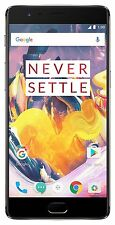 One Plus | OnePlus 3T (Gunmetal, 64GB) 6GB RAM , 4G LTE QUAD-CORE (Unboxed)