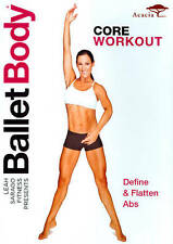 Ballet Body: Core Workout New DVD! Ships Fast!