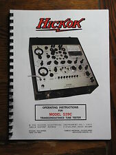 Hickok 539C ULTIMATE OPERATORS MANUAL WITH SCHEMATIC