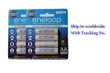 New Sanyo Eneloop Rechargeable battery AA 2000mAh 2 packs (8 pcs)