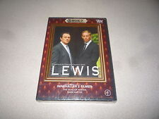 LEWIS BOX 7 DVD - DEAD OF WINTER , DARK MATTER BRAND NEW AND SEALED