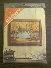 "Spinnerin North Woods Stitchery Marjorie Gosz 14"" X 18"" Embroidery Kit ST 1055"