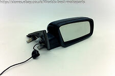 BMW E60 530d (1K) 5 SERIES Right Wing Door Mirror Carbonschwarz 3 wires