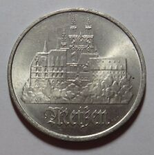 EAST GERMANY DDR 5 MARKS COIN 1972 MEISEN aUNC RARE