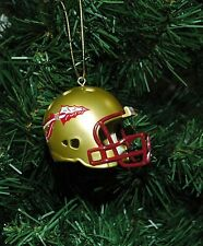 Florida State Seminoles Football Helmet Christmas Ornament