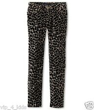 JUICY COUTURE GIRLS corduroy Animal Printed SKINNY JEANS size 10 new $98