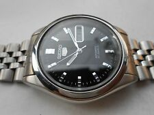 RARE VINTAGE SS JAPAN MADE SEE THROUGH SEIKO 5 MENS AUTOMATIC WRISTWATCH