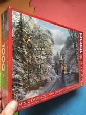 1000 Piece Eurographics US Jigsaw Puzzle New England Christmas Stroll New+Sealed