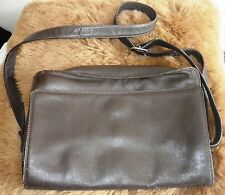 TULA Brown Leather Shoulder/Across Body Bag. REDUCED!