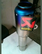 Multi Color Racing Exhaust Silencer Without DB Killer For All Bikes