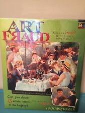 1000 Piece Buffalo Games Jigsaw Puzzle Art Fraud Luncheon Of The Boating Party