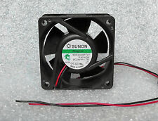 Sunon KDE2406PTV1 60mm x 25mm MagLev Fan 24V DC Bare Leads  (Works At 12V DC)