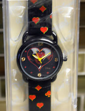 New Disney Parks Authentic QUEEN OF HEARTS Alice in Wonderland Watch