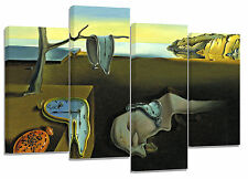 "Salvador dali/Famous Oil Painting/set of 4 canvas prints/  32""x 20"""