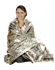 10 X FIRST AID THERMAL EMERGENCY SURVIVAL SHOCK SPACE BLANKET