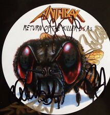 Anthrax - Attack Of The Killer A's Signed Autographed Cd