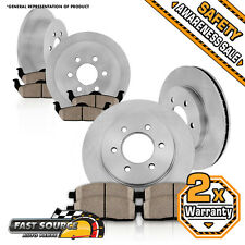 Front + Rear Rotors Ceramic Pads 2006 2007 2008 - 2010 HUMMER H3 2009 2010 H3T