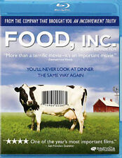 Food, Inc. (Blu-ray Disc, 2012) Health Diet Vegan Educational Documentary Animal
