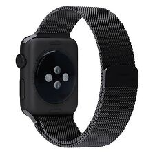 Apple Watch Band Penom Magnetic Clasp Mesh Loop Milanese Stainless Steel Strap