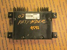 00-01-02-03-04 NISSAN PATHFINDER BOSE AMPLIFIER NUMBER 28061-2W100
