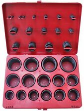 Assorted Imperial Black Rubber O Ring Set In Plastic Case -  Quantity 382