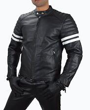 AW-1089 Men,s Stylish fight Club Leather Jacket,Motorcycle Leather Jacket. 2XL