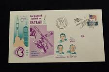 SPACE COVER 1973 PICTORIAL CANCEL SKYLAB 3RD MANNED MISSION TO SPACE STA (677)