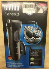 Braun Series 3 3050cc Electric Shaver for Men Cleaning Center *Solution NOT Incl