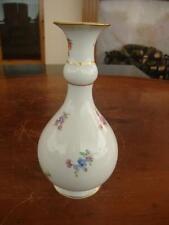 Bell 'antico porcellana di Meissen Vaso dipinto a mano. c1880.