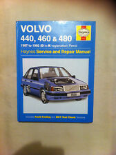 Haynes Volvo Manual 440, 460 & 480 1997-1992 (D-K)