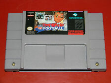 Troy Aikman NFL Football (Super Nintendo SNES) Cartridge Only - Cleaned & Tested