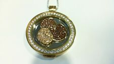 "NEW DISCOUNTED Mi Moneda Large ""Flower Brown"" Coin"