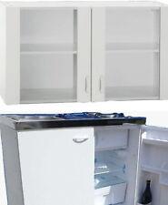Singleküche Miniküche Küche Pantryküche Herd mit Glastürenoberschrank Schrank N