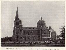 LAHORE NOUVELLE CATHEDRALE NEW CARTHEDRAL PAKISTAN IMAGE 1908 OLD  PRINT
