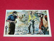 N°134 L'OR DU FOU CONQUETE DE L'OUEST WILLIAMS 1972 PANINI FAR WEST WESTERN