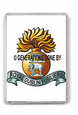 ROYAL DUBLIN FUSILIERS FRIDGE MAGNET