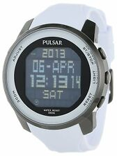 PULSAR CLASSIC WORLD TIME CHRONOGRAPH ALARM DAY & DATE MEN'S WATCH PQ2015 NEW