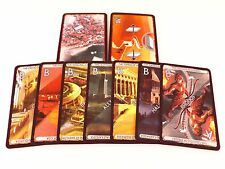 7 Wonders Replacement Wonder Selector, Border, & Free City Card Set 9pc