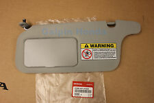 1996-2000 Honda CIVIC *CLEAR GREY* Driver Side Interior-Roof-Sunvisor (Left)