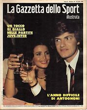 rivista LA GAZZETTA DELLO SPORT ILLUSTRATA ANNO 1978 N. 14 ANTOGNONI