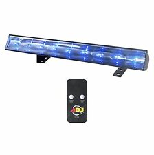 American DJ Eco UV Bar 50 IR Ultraviolet LED Black Light Wash Fixture w/ Remote