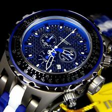 Invicta Reserve Specialty Subaqua Titanium Ceramic Swiss Movt Blue Watch New
