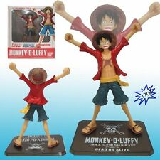 "ONE PIECE/ FIGURA MONKEY D. LUFFY NEW WORLD 17 CM-  DEAD OR ALIVE 6,7""  IN BOX"