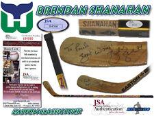 BRENDAN SHANAHAN Signed Game Used Stick HARTFORD WHALERS - JSA #I84560